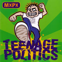 MXPX - TEENAGE POLITICS (*NEW-CD, 1995, Tooth & Nail)