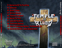 TEMPLE OF BLOOD - PREPARE FOR THE JUDGMENT OF MANKIND (*NEW-CD, 2018, Alone Records) Thrash Speed Metal