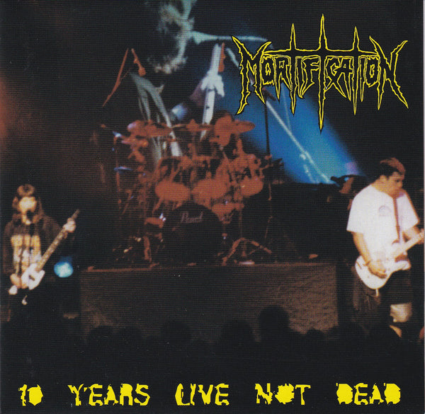 MORTIFICATION - TEN YEARS LIVE NOT DEAD (*Used-CD, 2000, Rowe)