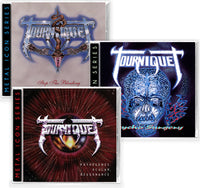 TOURNIQUET 3-CD BUNDLE - STOP THE BLEEDING + PSYCHO SURGERY + PATHOGENIC OCULAR DISSONANCE (Metal Icon Series) (*NEW-CD, 2020, Retroactive)