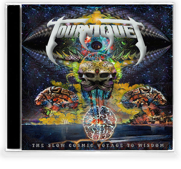 TOURNIQUET – THE SLOW COSMIC VOYAGE TO WISDOM (CD, 2020, Pathogenic Records)