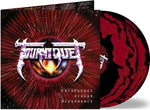 TOURNIQUET - PATHOGENIC OCULAR DISSONANCE (*NEW-Double Burgundy & Black VINYL/2-LP SET, Gatefold, Retroactive) with 24x24 poster ***PRE-ORDER
