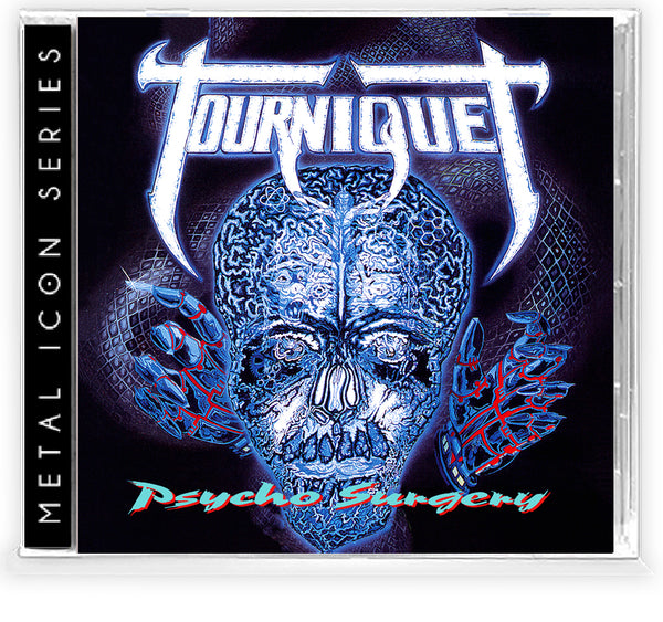 TOURNIQUET - PSYCHO SURGERY (Metal Icon Series) (*NEW-CD, 2020, Retroactive)