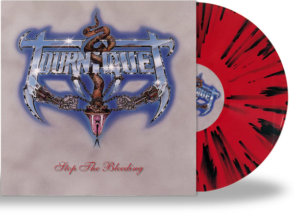 TOURNIQUET - STOP THE BLEEDING (Metal Icon Series) (*NEW-SPLATTER VINYL, 2020, Retroactive) ***PRE-ORDER