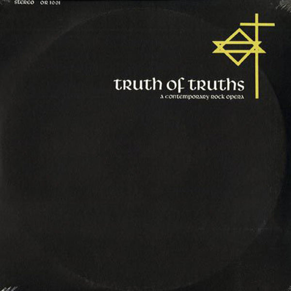 TRUTH OF TRUTHS: A CONTEMPORARY ROCK OPERA (*NEW-2-CD Set, 2018, Oak Records)