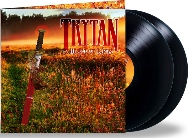 TRYTAN - BLOOD OF KINGS (*NEW-Double Vinyl Gatefold, 2021, Retroactive Records) Eric Gillette/Neal Morse Band + John Elefante/Kansas + Jim LaVerde/Barren Cross *PRE-ORDER