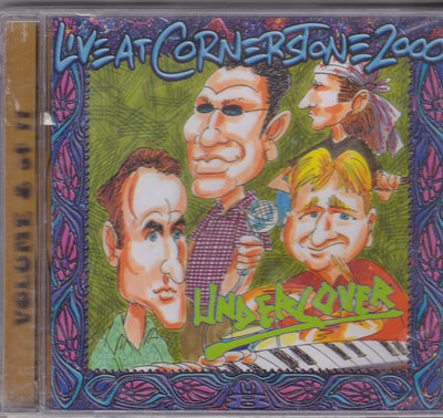 UNDERCOVER - LIVE AT CORNERSTONE 2000 (*NEW-CD, 2000, Millenium Eight Records)