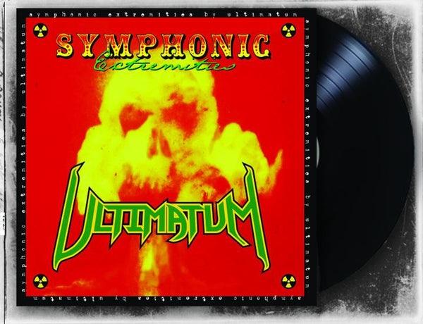 ULTIMATUM - SYMPHONIC EXTREMITIES (*NEW-BLACK VINYL, 2019, Roxx)