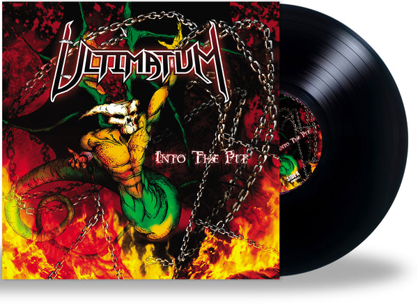 ULTIMATUM - INTO THE PIT (NEW-VINYL, 180 Gram Black, 2020, Retroactive) THRASH MASTERPIECE!