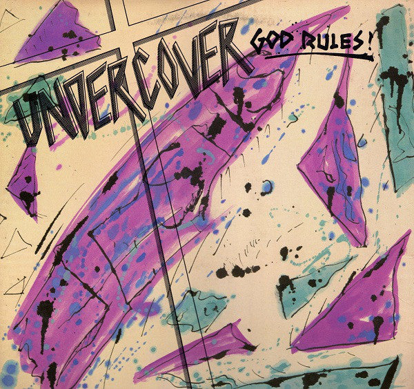 UNDERCOVER - GOD RULES (*Used-Vinyl, 1983, A&S)