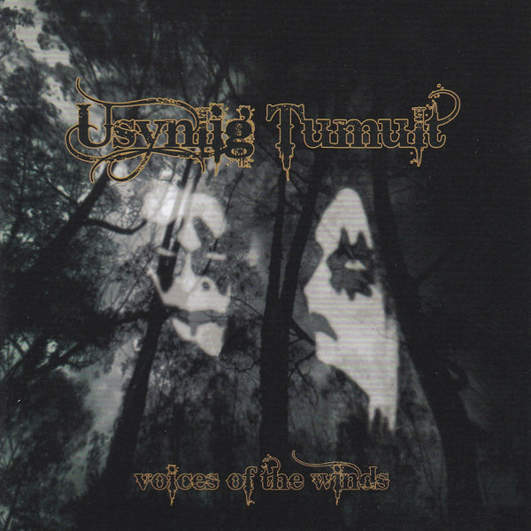 USYNLIG TUMULT - VOICES OF THE WINDS (*Used-CD, 2009, Bombworks) Pure Black Metal from the Ukrain
