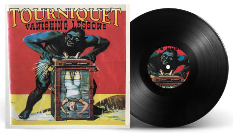 TOURNIQUET - VANISHING LESSONS (*BLACK VINYL, 2019, Pathogenic Records)
