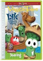 VEGGIE TALES: LYLE THE KINDLY VIKING - A LESSON IN SHARING (*NEW-DVD, 2001)