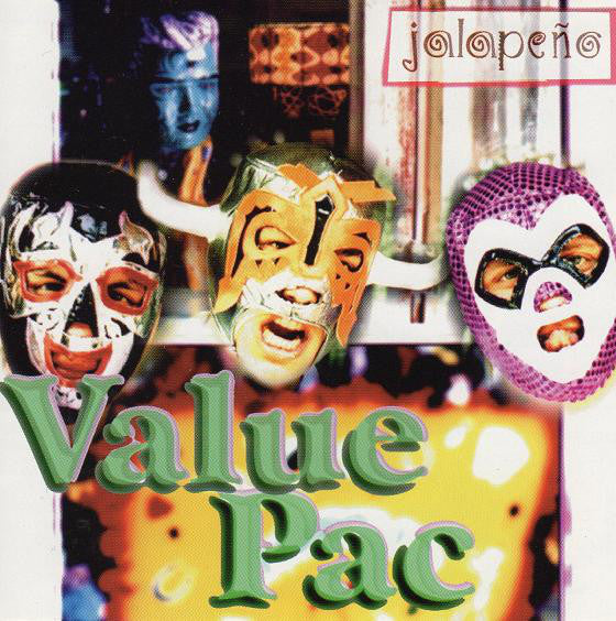 Value Pac ‎– Jalapeño (*Used-CD, 1997, BEC) punk ala Ramones MXPX