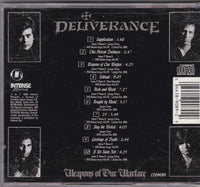 DELIVERANCE - WEAPONS OF OUR WARFARE (*CD, 1990, Intense) Orig Issue Thrash