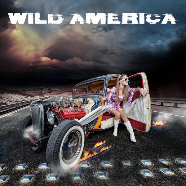 WILD AMERICA - GASOLINE (*NEW-CD, 2018, Kivel Records) 80's melodic hard rock/metal