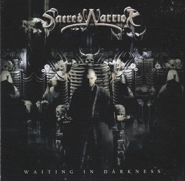 SACRED WARRIOR - WAITING IN DARKNESS (*NEW-CD, 2013, Indie)