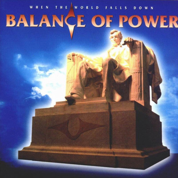 Balance Of Power ‎– When The World Falls Down (*Used-CD, 1997, Pointe) Prog Metal