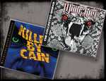 2 album/3 CD BUNDLE KILLED BY CAIN CD & WHITERAY - THE COLLECTED WORKS 2-CD Set