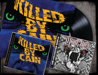 BUNDLE CD & VINYL KILLED BY CAIN & WHITERAY - THE COLLECTED WORKS CD