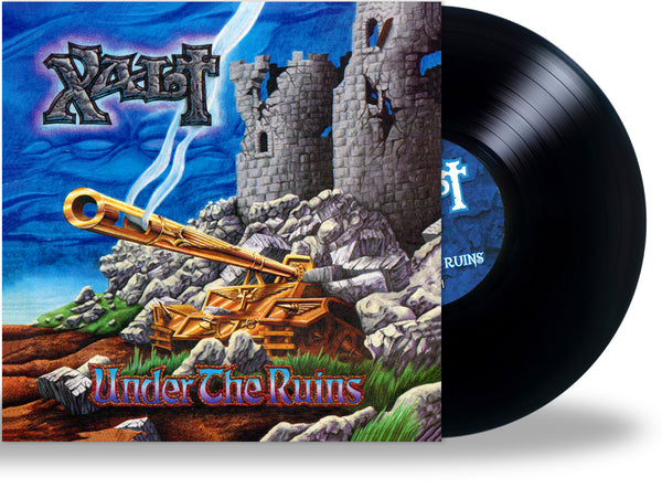 XALT - UNDER THE RUINS + 1 Bonus (*NEW-180-Gram VINYL, 2021, Retroactive) Brilliant Heavy Metal! ***PRE-ORDER