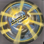 STRYPER - YELLOW & BLACK ATTACK (*Used-BLUE Vinyl, 1986, Enigma)