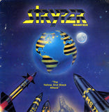STRYPER - YELLOW & BLACK ATTACK (*Used-YELLOW VINYL, 1984, Enigma) Rare Mistake Cover (shortened hand) ORIGINAL MIX!