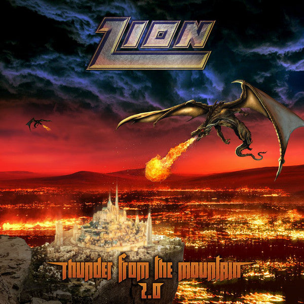 Zion ‎– Thunder From The Mountain 2.0 (*NEW-CD, 2019, Image Records)