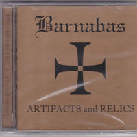 BARNABAS - ARTIFACTS & RELICS (*NEW-CD, 2000, M8)