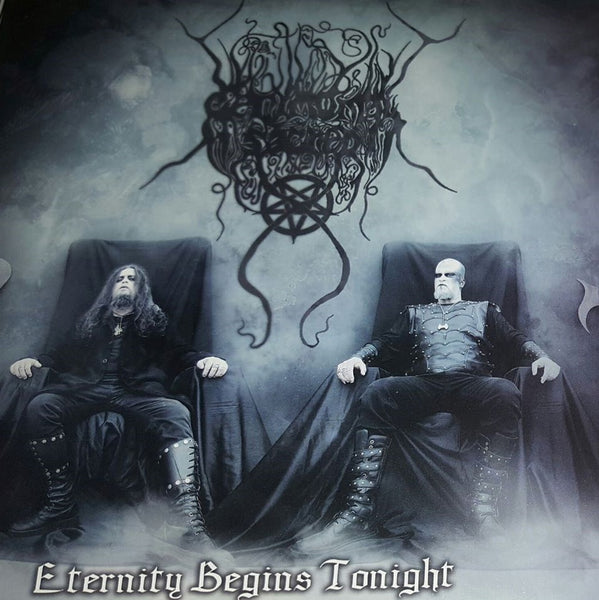 "CEREMONIAL SACRED - ETERNITY BEGINS TONIGHT (EP 7"" VINYL) 2018 Vision of God Records"