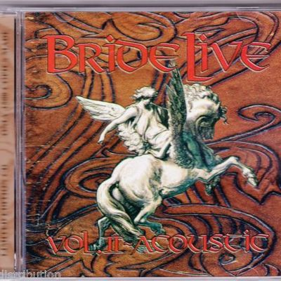 BRIDE - LIVE VOL 2 ACOUSTIC (2000, M8) Rare only 1500 made!
