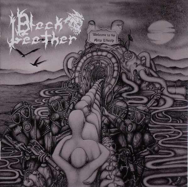 BLACK LEATHER - THE NEW LIBERTY (*NEW-CD, 2017, Nokternal Hemizphear) elite Thrashy Metal