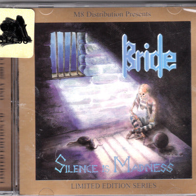 BRIDE - SILENCE IS MADNESS (CD, 2000, M8) Jewel case with bonus tracks
