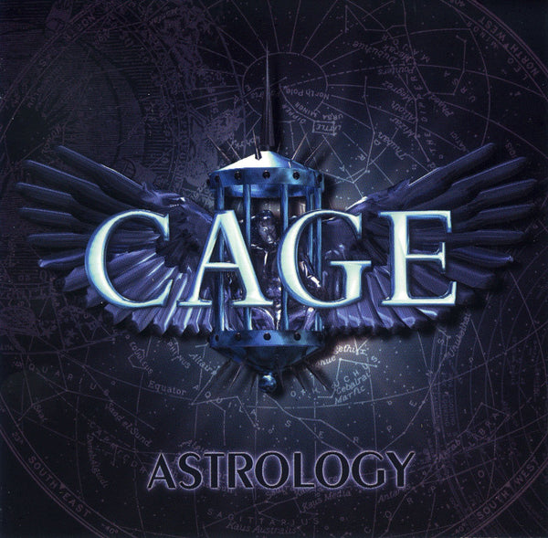 CAGE - ASTROLOGY (*Pre-Owned CD, 2001, WWIII) elite melodic power metal