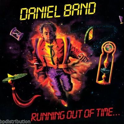 DANIEL BAND - RUNNING OUT OF TIME (*Used-Vinyl, 1988, Refuge) Near Mint Vinyl