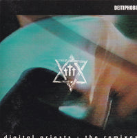 DEITIPHOBIA - DIGITAL PRIESTS - THE REMIXES (*Used-CD, 1992, Blonde Vinyl)