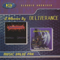 DELIVERANCE - S/T DEBUT + WEAPONS OF OUR WARFARE (*CD, 1998, KMG) Two albums on one CD