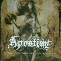 APOSTISY - FAMINE OF A THOUSAND FROZEN YEARS (*NEW-CD, 2007, Black Winter Productions) elite Christian Black Metal