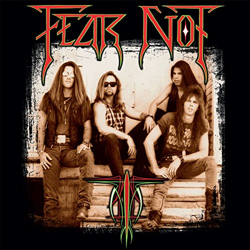 FEAR NOT - FEAR NOT (*NEW-BLACK VINYL, 2017, Roxx Records)
