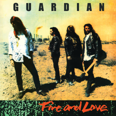GUARDIAN - FIRE & LOVE (Legends Remastered) ORANGE VINYL