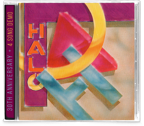 HALO - HALO (30th Anniversary Edition) + 4 Song DEMO (*NEW-CD, 2020, Girder) Produced by Elefante's AOR