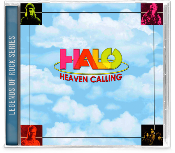 HALO - HEAVEN CALLING + 4 Bonus Tracks (*NEW-CD, 2020, Girder) AOR Elefante produced