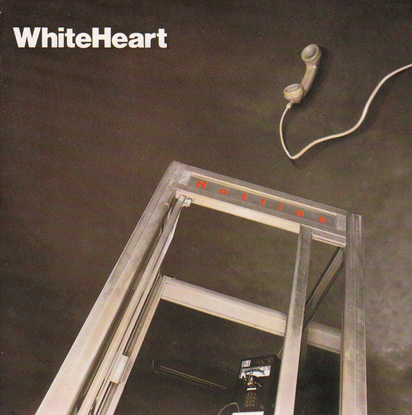 WHITEHEART - HOTLINE (*Pre-Owned Vinyl, 1985, Home Sweet Home)