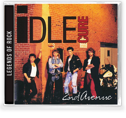 IDLE CURE - 2ND AVENUE (*NEW-CD, 2019, Girder) Remastered