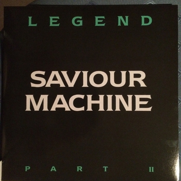 SAVIOUR MACHINE - LEGEND PART II (*2-LP NEW-BLACK VINYL, 2017, Floga) ***Last Copies! Prog Gothic Metal!