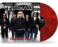 BLOODGOOD - DANGEROUSLY CLOSE (NEW-VINYL) Includes 24x24 Poster