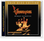 VENGEANCE RISING - HUMAN SACRIFICE: GOLD DISC EDITION (*NEW-CD, 2020, Roxx) Limited supply
