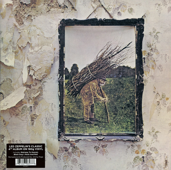 Led Zeppelin ‎– 4 (*NEW-180 GRAM VINYL, Gatefold)
