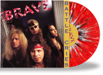 THE BRAVE - BATTLE CRIES (RED, BLACK, WHITE SPLATTER VINYL w/2-SIDED PRINTED SLEEVE