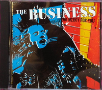 The Business ‎– No Mercy For You (Pre-owned CD, 2000, Burning Hearts) Oi! Punk!